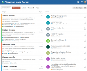 Flowster Amazon Sellers Forum