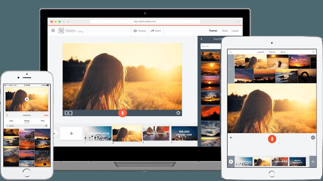 Adobe Spark - Facebook Ads Creator Tool