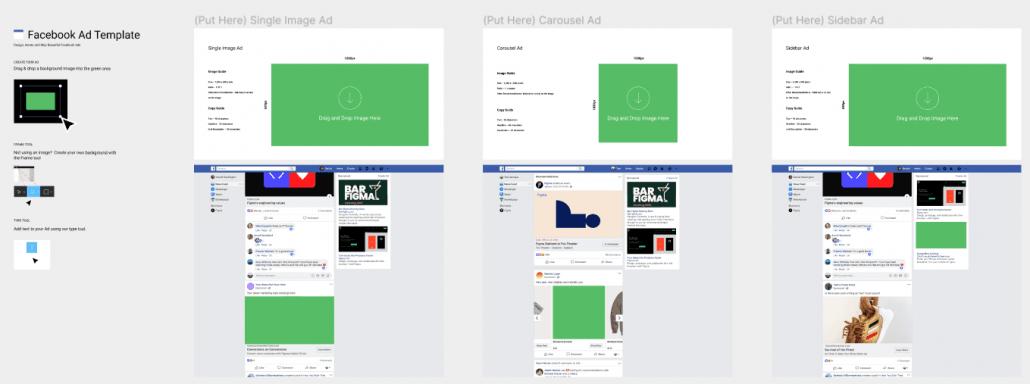 Figma - Facebook Ad Template